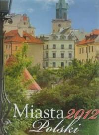 Kalendarz 2012 RW03 Miasta Polski - okładka książki