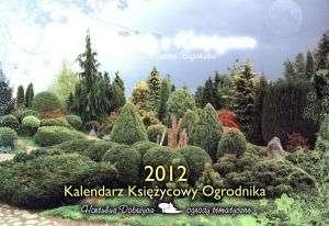 Kalendarz księżycowy ogrodnik 2012 - okładka książki