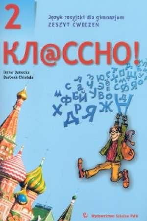Kłassno! 2. Język rosyjski dla - okładka podręcznika