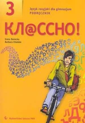 Kłassno! 3. Język rosyjski dla - okładka podręcznika