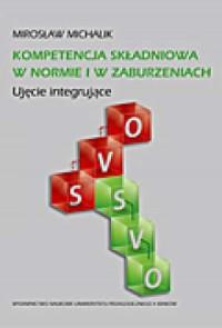 Kompetencja składniowa w normie - okładka książki