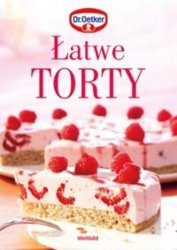Łatwe torty - okładka książki