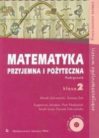 Matematyka przyjemna i pożyteczna. - okładka podręcznika