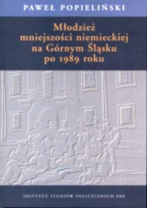 Młodzież mniejszości niemieckiej - okładka książki
