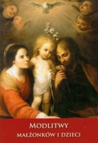 Modlitwy małżonków i dzieci - okładka książki