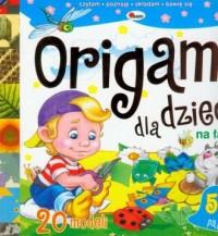 Origami dla dzieci. Na łące - Wydawnictwo - okładka książki