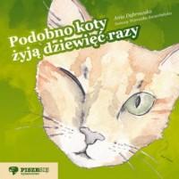 Podobno koty żyją dziewięć razy - okładka książki