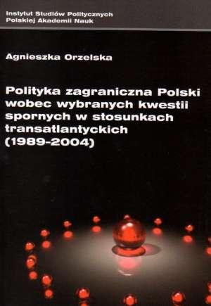 Polityka zagraniczna Polski wobec - okładka książki