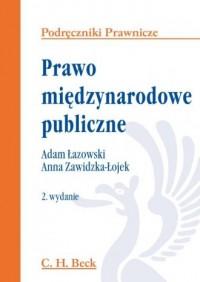 Prawo międzynarodowe publiczne - okładka książki