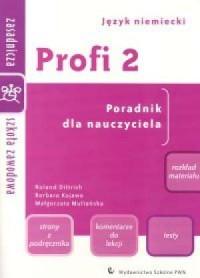 Profi 2. Język niemiecki. Zasadnicza - okładka książki