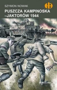 Puszcza Kampinoska - Jaktorów 1944 - okładka książki