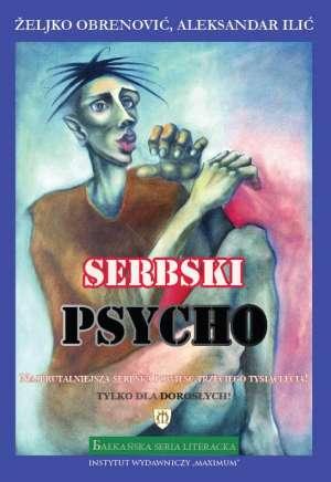 Serbski psycho - okładka książki
