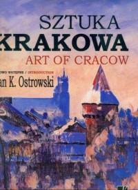 Sztuka Krakowa - okładka książki