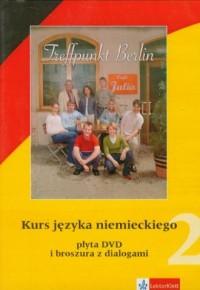 Treffpunkt Berlin 2. Kurs języka niemieckiego (DVD) - pudełko programu