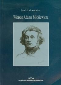 Wiersze Adama Mickiewicza - okładka książki