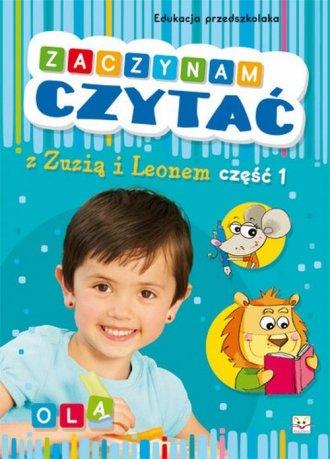 Zaczynam czytać z Zuzią i Leonem - okładka książki