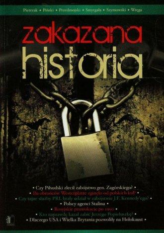 Zakazana historia - okładka książki