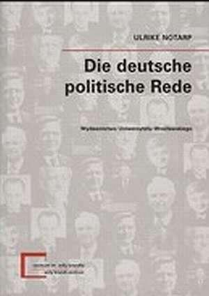 Die deutsche politische Rede. Seria: - okładka książki