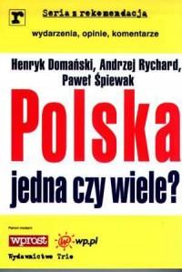 Polska jedna czy wiele? Seria z - okładka książki