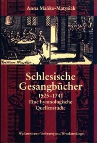Schlesische Gesangbücher 1525-1741. - okładka książki