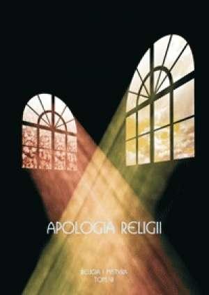 Apologia religii - okładka książki