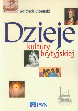 Dzieje kultury brytyjskiej - okładka książki
