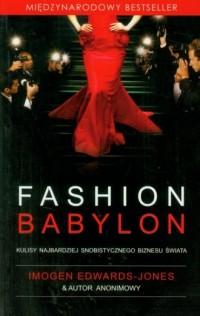 Fashion Babylon - okładka książki