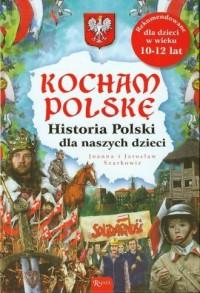 Historia Polski dla naszych dzieci. - okładka książki