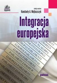 Integracja europejska - okładka książki