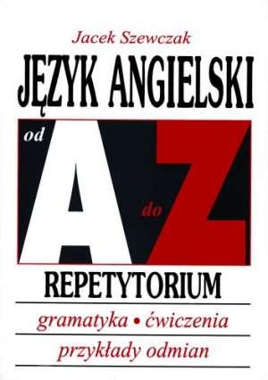 Język angielski od A do Z. Repetytorium - okładka podręcznika