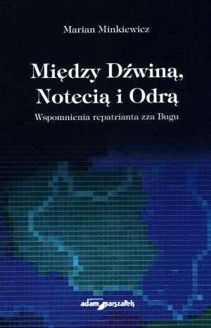 Między Dźwiną, Notecią i Odrą. - okładka książki