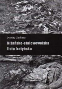 Niżańsko-stalowowolska lista katyńska - okładka książki
