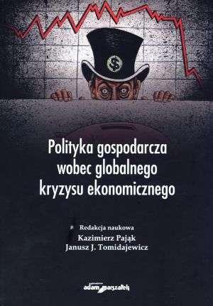 Polityka gospodarcza wobec globalnego - okładka książki