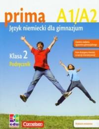 Prima 2. Język niemiecki. Podręcznik A1/A2 - okładka podręcznika