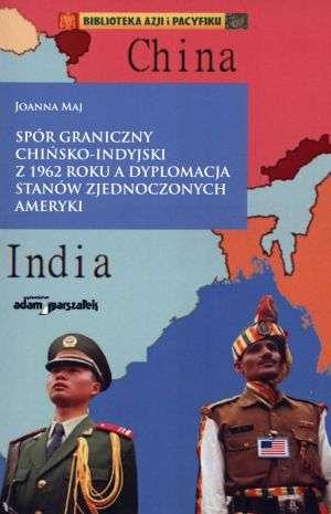 Spór graniczny chińsko-indyjski - okładka książki