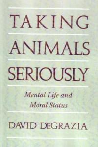 Taking Animals Seriosuly. Mental Life and Moral Status - okładka książki