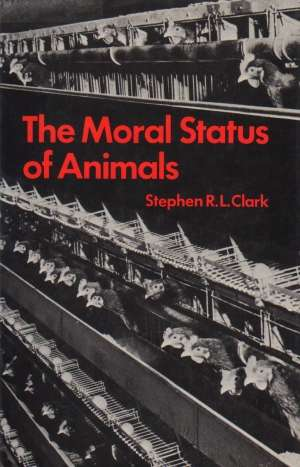 The Moral Status of Animals - okładka książki