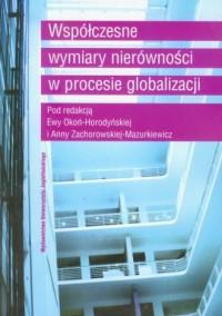 Współczesne wymiary nierówności w procesie globalizacji - okładka książki