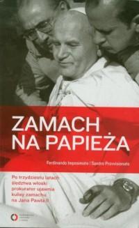 Zamach na papieża - okładka książki