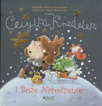 Cecylka Knedelek i Boże Narodzenie - okładka książki