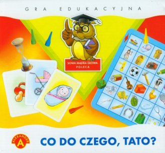 Co do czego, tato (gra edukacyjna) - zdjęcie zabawki, gry