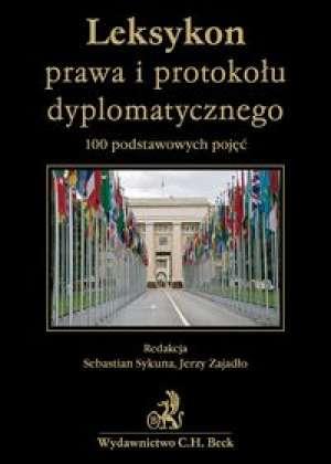Leksykon prawa i protokołu dyplomatycznego - okładka książki