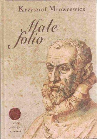 Małe folio - okładka książki