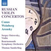 Russian Violin Concertos (CD) - okładka płyty
