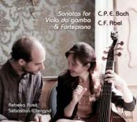 Sonatas for viola da gamba & fortepiano (CD) - okładka płyty