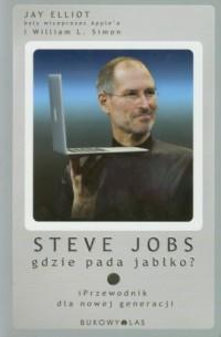 Steve Jobs. Gdzie pada jabłko - okładka książki