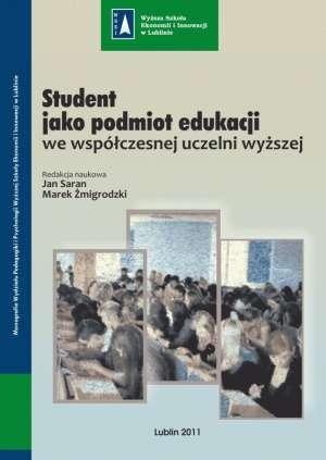 Student jako podmiot edukacji we - okładka książki
