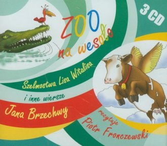 Zoo na wesoło. Szelmostwa Lisa - pudełko audiobooku