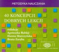 40 koncepcji dobrych lekcji. Metodyka - pudełko audiobooku