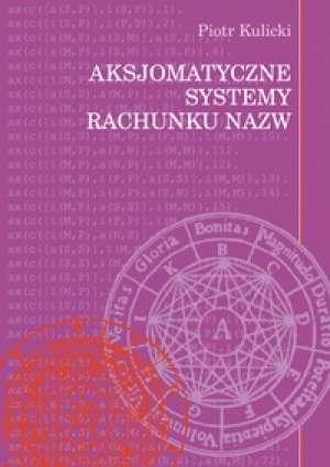Aksjomatyczne systemy rachunku - okładka książki